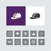Creative Helmet Icon with Bonus Icons.