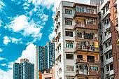 Old Public Residential Building in Kwun Tong, Hong Kong