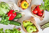 Healthy fresh vegetarian food