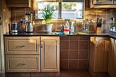 A kitchen's not a kitchen without cleaning detergents