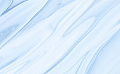 Marble rock texture blue pattern liquid swirl paint white dark Illustration background for do ceramic counter tile silver gray that is abstract painted waves for skin wall luxurious art ideas concept.