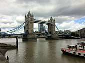 A view of Tower Bridge in London