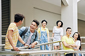 Young Asian university students
