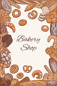 Bakery shop frame