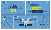 Seven Accounting Slide Templates Set