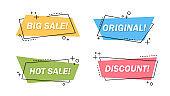 Sale letterings set