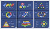 Nine Workflow Slide Templates Set