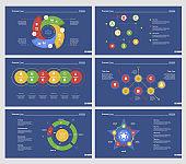 Six Training Diagrams Slide Templates Set