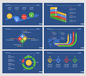 Six Research Slide Templates Set