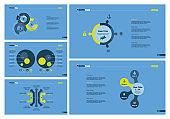 Five Finance Slide Templates Set