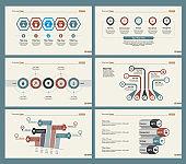Six Finance Diagrams Slide Templates Set