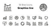Graphics line icons