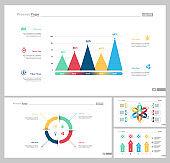 Four Planning Slide Templates Set