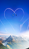 Inversion trace like a heart.