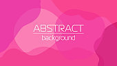 Creative background with liquid abstract geometric shapes for social media templates, vibrant colors