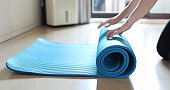 The beginning of home exercise