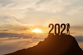 New Year 2021 and business development.