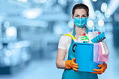 The concept of disinfection and cleaning.