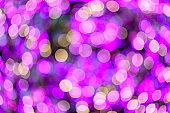 purple Glitter Christmas Bokeh light Background