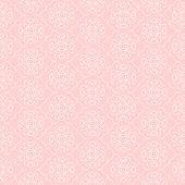 Seamless pattern - pink background. Geometric ornament - wallpaper. Vector illustration.