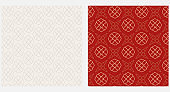 Elegant background patterns with geometric shapes vector graphics.
