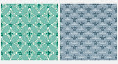 Royal background seamless pattern. Vintage style. Vector graphics.