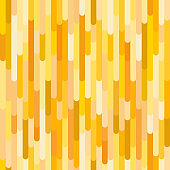 Vertical stripes vector seamless pattern, yellow & orange