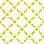 Green geometric seamless pattern. Vector bright colorful funky summer background