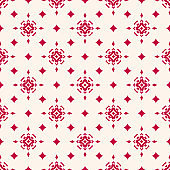 Vector Christmas seamless pattern with star shapes, magic sparkles, diamonds