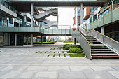 Empty floor and modern office building in Science and Technology Park ,chongqing,china
