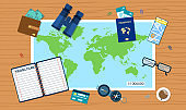 Travel planning concept