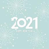 Creative happy new year 2021