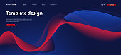 Color gradient background design. Abstract geometric background with liquid shapes and curve line for posters or web page template. vector design illustration EPS10.