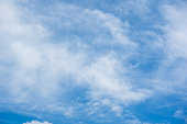 Blue sky and clouds on daytime