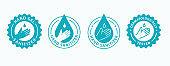 Hand gel sanitizer icon. Vector illustration.