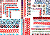 Seamless Ethnic and Vintage Embroidery Patterns