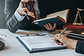 Sign the agreement The Concept of Legal Procedure and Litigation.