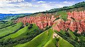 Red Ravine in Transylvania, Romania
