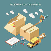 Parcel Packaging Concept