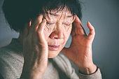 Senior Women headache