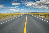 The way forward road