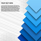 Abstract advertising template