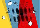 Cartoon design colored background.