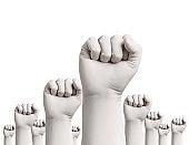 corona virus coronavirus epidemic glove protective protection virus medical health fist power strength hand