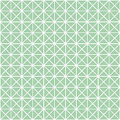 Seamless pattern with sacred hexagon