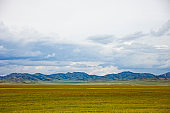 Altai Mountains landscape, summer nature, Russia