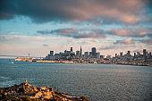 View of San Francisco, California, USA