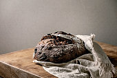 Homemade chocolate bread