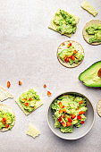 Healthy Gluten Free Snacks with avocado