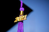 Class of 2021 Graduation Ceremony Tassel Black